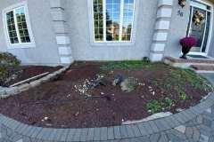 manalapan nj replacing front yard landscaping 10-10-2017 before - 6