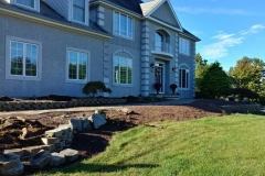 manalapan nj replacing front yard landscaping 10-10-2017 before - 3