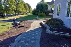 manalapan nj replacing front yard landscaping 10-10-2017 before - 5
