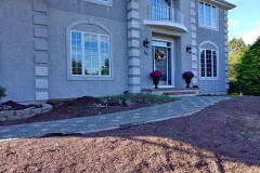 manalapan nj replacing front yard landscaping 10-10-2017 before - 7
