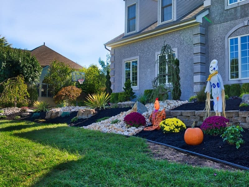 front yard landscape replacement manalapan nj picture perfect landscaping property management. Black Bedroom Furniture Sets. Home Design Ideas