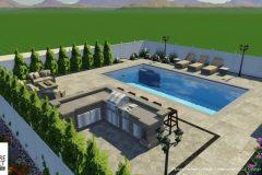 Custom 3D Landscape & Hardscape Customer Designs 12