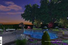 Custom 3D Landscape & Hardscape Customer Designs 16