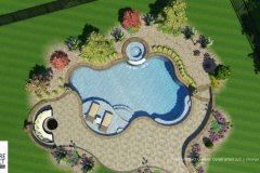 Custom 3D Landscape & Hardscape Customer Designs 18