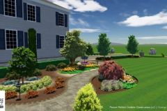 Custom 3D Landscape & Hardscape Customer Designs 3