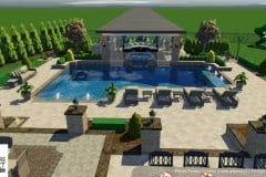 Custom 3D Landscape & Hardscape Customer Designs 33