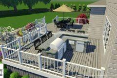 Custom 3D Landscape & Hardscape Customer Designs 9