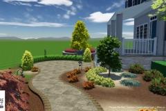 Custom 3D Landscape & Hardscape Customer Designs 1