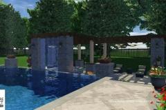Custom 3D Landscape & Hardscape Customer Designs 21