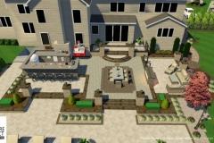 Custom 3D Landscape & Hardscape Customer Designs 35