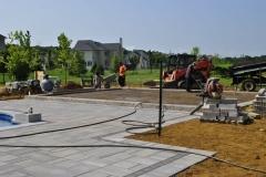 cream ridge weathervane circle full back yard remodel 09-21-2017 construction - 24