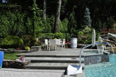 colts neck nj pool rehab patio starirs landscaping water features outdoor lighting 2016 - 4