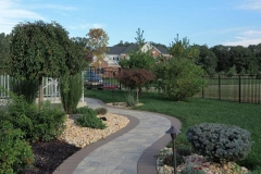 cream ridge weathervane circle full back yard remodel 09-21-2017 - 4