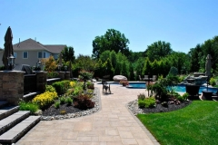 tinton falls nj pool patio walkway landscaping 2016 - 20