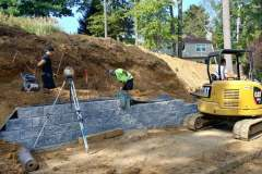 steeple-chase-dr-marlboro-nj-multi-level-retaining-wall-construction-9-11-2017-3