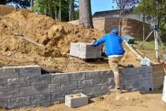 steeple-chase-dr-marlboro-nj-multi-level-retaining-wall-construction-9-11-2017-5