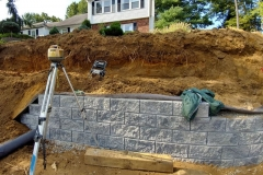 steeple-chase-dr-marlboro-nj-multi-level-retaining-wall-construction-9-11-2017-8