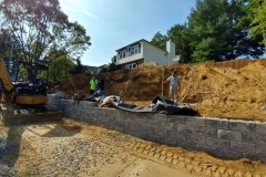 steeple-chase-dr-marlboro-nj-multi-level-retaining-wall-construction-9-11-2017-9