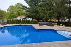 Pool Deck & Landscaping Everett Court Marlboro NJ 2017