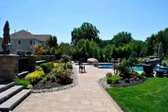 tinton falls nj pool patio walkway landscaping 2016 - 20