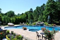 tinton falls nj pool patio walkway landscaping 2016 - 23