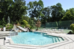 colts neck nj pool rehab patio starirs landscaping water features outdoor lighting 2016 - 3