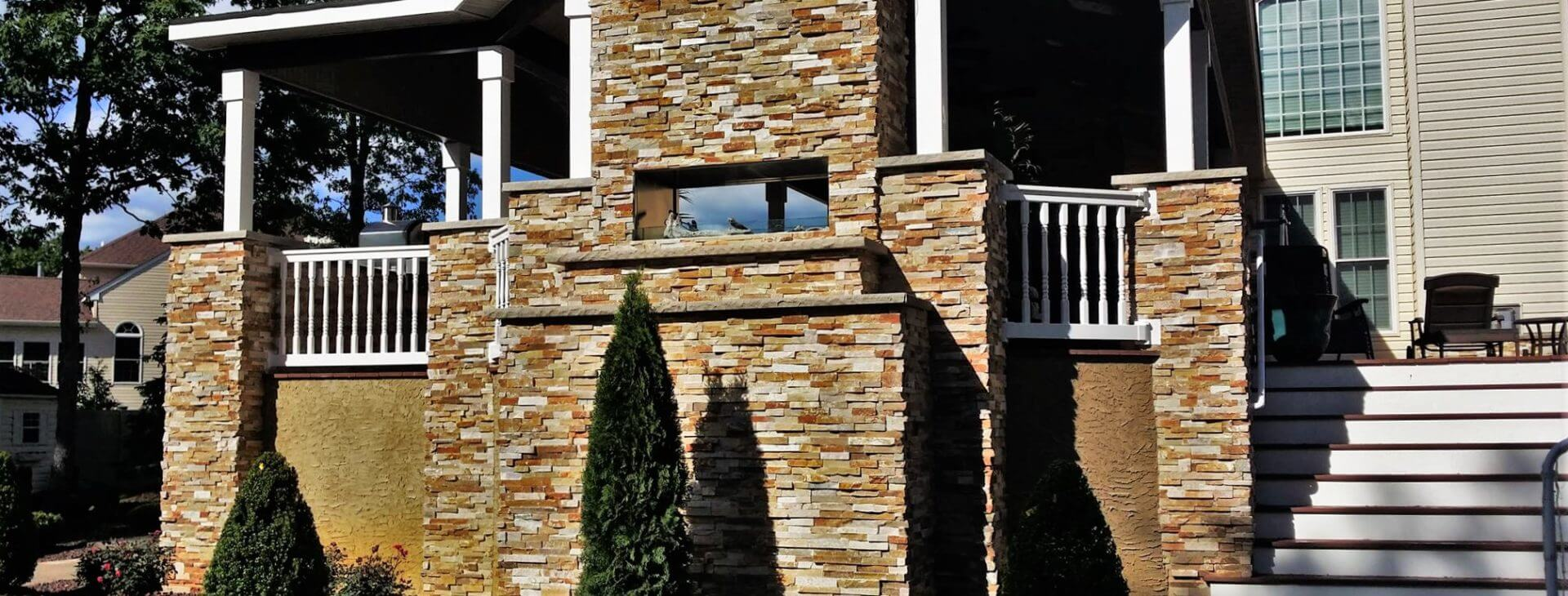 Custom Composite Decks & Stone Veneers