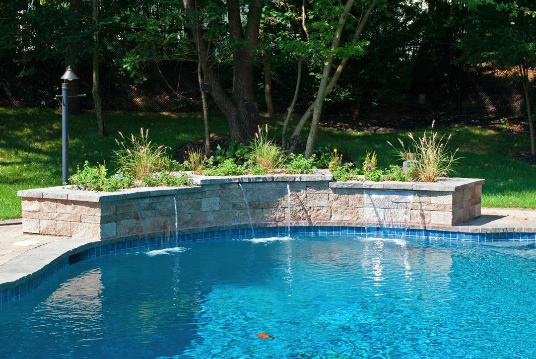 Backyard Makeover: New Landscaping, Paver Patio, Walkway, Waterfall, & Gazebo - Manalapan, NJ