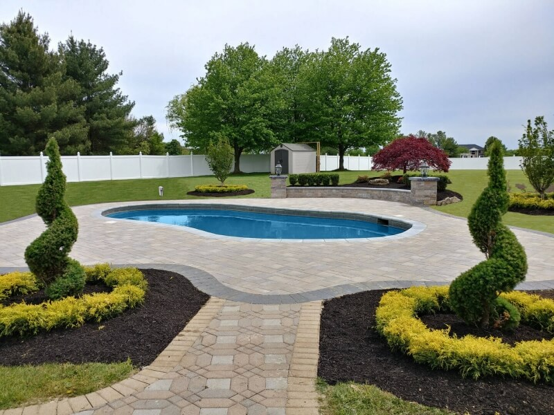Pool Coping & Deck in Manalapan Completed!