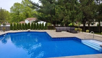Pool Deck & Landscaping
