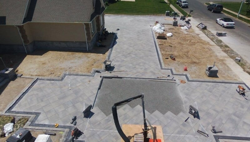 Custom Paver Driveway in Toms River, NJ - Part 2